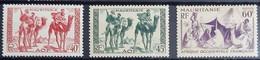 MAURITANIE SERIE N°105-106-107 - Neuf Sans Charnière / MNH - Mauritania (1906-1944)