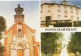 Pontchartrain Belle Multi-vues La Mairie L'Eglise - Autres Communes