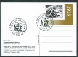 Italia, Italy, Italie, Italien 2018; Borgo Malanotte, Rievocazione Per I 100 Anni Dalla Fine Della Grande Guerra - Prima Guerra Mondiale
