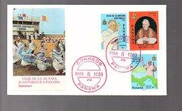 FDC Visit Of Pope 1983 (320) - Panama