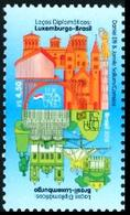 BRAZIL 2018  -   BRAZIL AND LUXEMBOURG - DIPLOMATIC TIES  - MINT - Unused Stamps