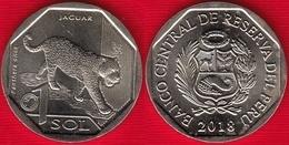 """Peru 1 Sol 2018 """"Jaguar"""" UNC - Pérou"""