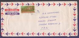 Tiger, Postal History Cover From BANGLADESH, Used 2001 - Bangladesh