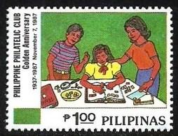 PHILIPPINES 1987 PHILATELIC CLUB STAMP COLLECTING SET MNH - Philippines