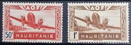MAURITANIE POSTE AERIENNE N°10-11 - Neuf Sans Charnière / MNH - Nuovi