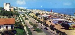 Riccione - Lungomare E Spiaggia - Formato Piccolo Viaggiata – E 9 - Rimini