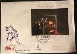 SMOM 1992 FDC S.G.BATTISTA - Sovrano Militare Ordine Di Malta