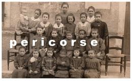 30  Carte Photo  Groupe D'enfants - Bessèges
