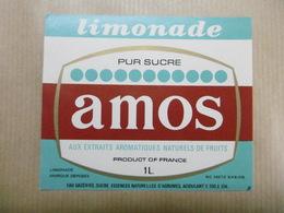 Etiquette LIMONADE Pur Sucre AMOS De METZ - Labels