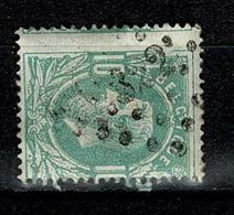 Belg.  30  Pt 322  St Ghislain  COBA + 2 - 1869-1883 Leopold II