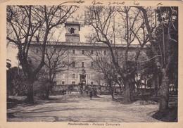 MONTEROTONDO. PALAZZO COMUNALE. TERNI. CIRCULEE 1909, TIMBRE ARRACHE. ITALIA-BLEUP - Italia