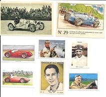 BG73 - IMAGES DIVERSES - EYSTON - STIRLING MOSS - GUY MOLL - CHRISTIAN WERNER - MARCEL LEHOUX - Automobile - F1