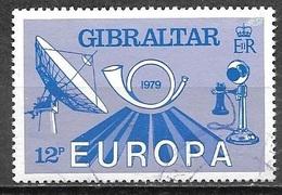 1996 Europa, 12p, Used - Gibraltar