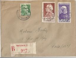 Lettre Affranchie 1946 YT N° 748 749 - Autres