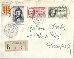 Lettre Affranchie 1957 YT N° 1097 1098 1111 - Autres