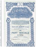 Ancienne Action - La Corbeille à Wespelaer - Titre De 1948 - - Industrie