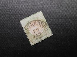 D.R. Mi 2a - 1/3Gr  - 1872 - Mi 50,00 € - Usados