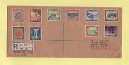 Niue - FDC Premier Jour - Recommande - 3 Juillet 1950 - Niue