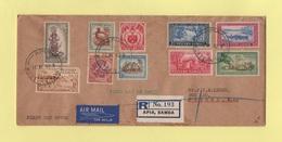 Samoa - FDC Premier Jour - Recommande - 10 Mars 1952 - Samoa