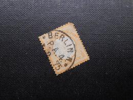 D.R. Mi 18 - 1/2Gr  - 1872 - Mi 12,00 € - Eckzahn - RS Dünne Stelle - Deutschland