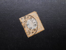 D.R. Mi 18 - 1/2Gr  - 1872 - Mi 12,00 € - Eckzahn - RS Dünne Stelle - Duitsland
