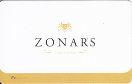 GREECE - Zonars, Member Card, Unused - Autres Collections