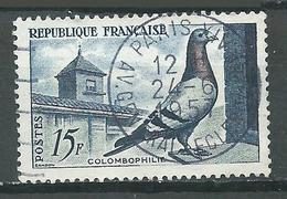France YT N°1091 Colombophilie (Oblitération Ronde) Oblitéré ° - France