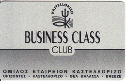 GREECE - Kastelorizo Group, Member Card, Used - Autres Collections