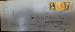 O) 1887 CIRCA-UNITED STATES-USA, ALEXANDER HAMILTON SC 154 - BENJAMIN FRANKLIN15c Orange, JAMES A. GARFIELD SC 205 5c. T - 1847-99 Algemene Uitgaves