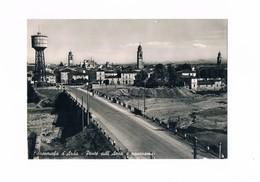 Cartolina - Postcard - Viaggiata - Sent - Fiorenzuola D'Arda - Ponte Sull'Arda E Panorama - Anni'50 - Piacenza