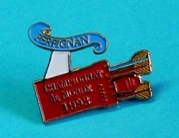 1 PIN'S //   ** TIR A L'ARC / CHAMPIONNAT DU MONDE '93 / PERPIGNAN ** - Archery