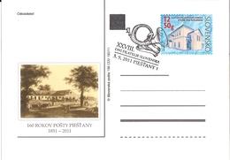 CDV 198 Slovakia - Piestany Postoffice Anniversary 2011 Spa - Post