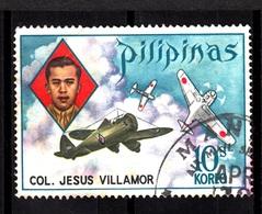 Pilipinas,1973- Col. Jesus Villamor. Cancelled NH - Filippine