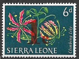 COLONIE INGLESI  1964-65 FRANCOBOLLI SOPRASTAMPATI YVERT. 263 MNH XF - Sierra Leone (1961-...)