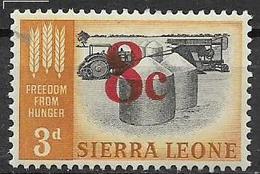 COLONIE INGLESI  1964-65 FRANCOBOLLI SOPRASTAMPATI YVERT. 265 MNH XF - Sierra Leone (1961-...)