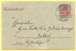 Deutsches Reich - 1911 - 10 - Kartenbrief - Carte Lettre - Intero Postale - Entier Postal - Postal Stationary - Viaggiat - Interi Postali