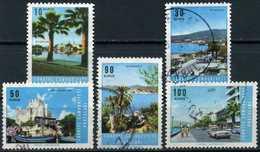 TURKEY 1966 - Mi. 1999-2003 O, Tourism - 1921-... Republik