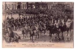 3457 - Douai ( 59 ) - 7 Avril 1914 - Arrivée à Douai Du 9e Cuirassier  - E.Baron Ph. Douai - - Douai