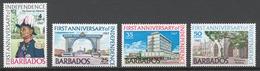 Barbados 1967 Mi# 266-69** INDEPENDENCE, 1st ANNIV. - Barbades (1966-...)