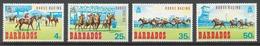 Barbados 1969 Mi# 281-84** HORSE RACING - Barbades (1966-...)