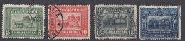 ERITREA (colonia Italiana) - 1910/1929 -  Serie Completa Usata Yvert 37/40; 4 Valori. - Eritrea