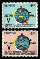 PHILIPPINES 1979 UNITED NATIONS CONFERENCE TRADE DEVELOPMENT SET MNH - Philippines