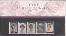 G.B. / 1997 Lady Diana Stamps / Presentation Packs - 1840-1901 (Victoria)