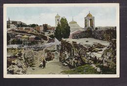 CPSM JORDANIE - JUDEE - Judée - BETHANY - Tomb Of Lazarus - TB PLAN EDIFICE + Très Joli Timbre Verso Jordanie - Jordanie
