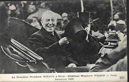 Président Woodrow Wilson  à Paris Décembre 1918 - Réceptions