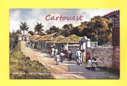 CPA PORTO RICO ( PUERTO RICO )  TYPICAL SCENE IN CAGUAS - RAPHAEL TUCK - Chromo - Puerto Rico