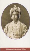Maharaja  Of  PATALIA State  Modern Photo  Post Card # 74672  Inde Indien India - India