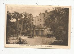 Cp , Hotels & Restaurants , Jardin De L'hôtel De Paris Et Entrée Du Restaurant, Vierge , 83 , HYERES - Hotels & Restaurants