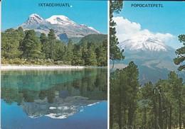 MEXIQUE--IXTACCIHUATL Y POPOCATEPETL--( Volcanes Volcans ) - Mexique