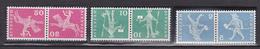 N° 643b 644b 645b Série Tête Bêche: Timbres Neuf Impeccable - Suisse